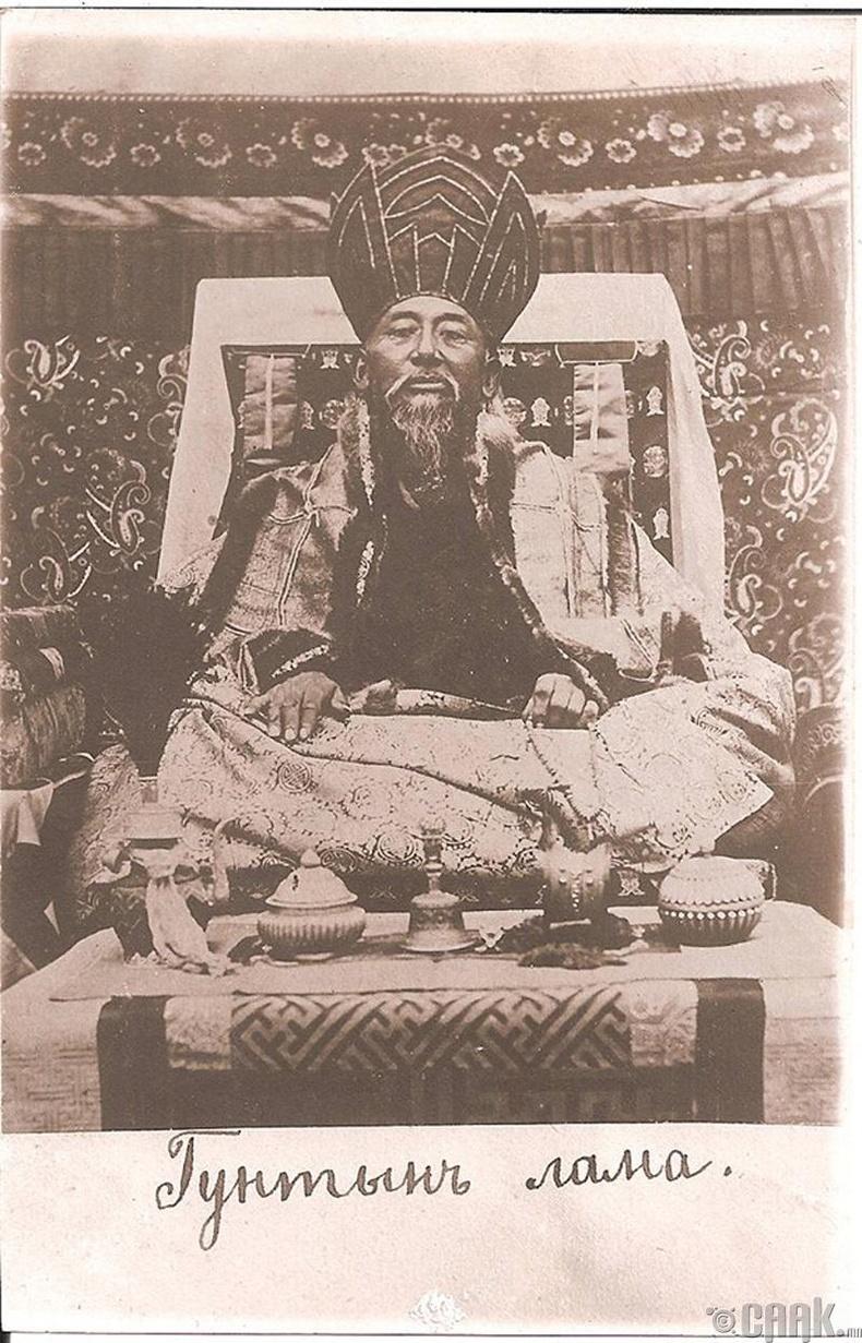 Гунтын лам - 1889 он