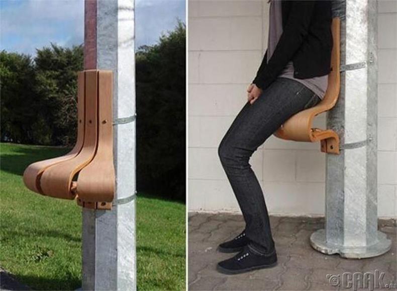 Юуг ч сандал болгон ашиглаж болно
