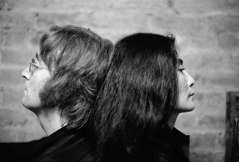 Жон Леннон болон Йоко Оно, NY Daily News архиваас.