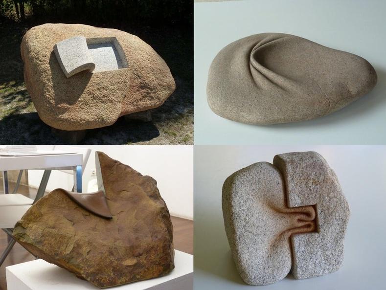 Уран барималч Хосе Мануэл Кастрогийн бүтээсэн чулуун баримлууд