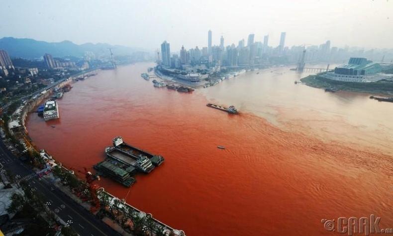 Хөх мөрөн, Хятад