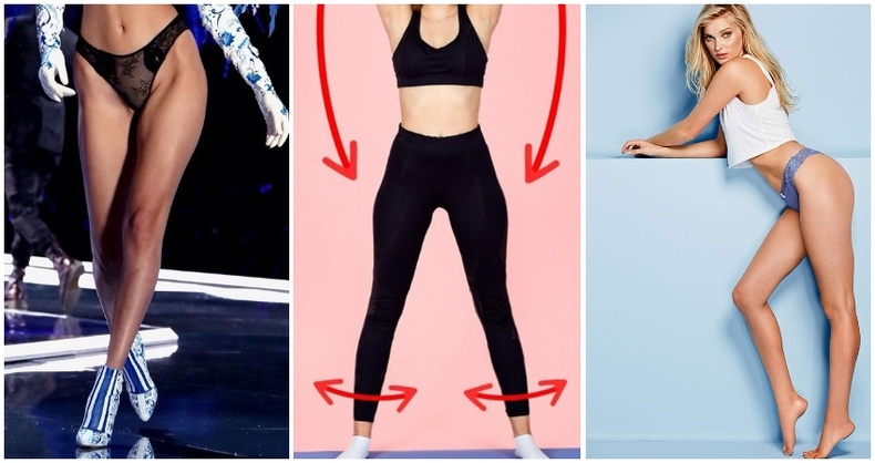 """""""Victoria's Secret""""-ийн сахиусан тэнгэрүүд шиг хөлтэй болгох дасгал"""