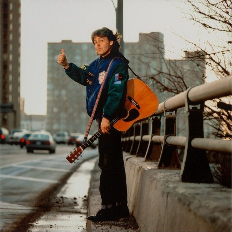 Такси барьж буй Пол Маккартни, 1989 он