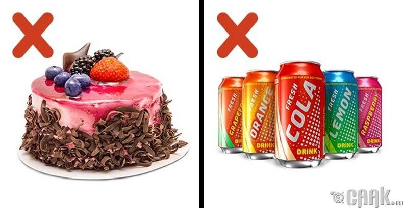 Сахарын хэт их хэрэглээ