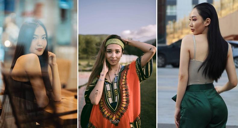 Монголын үзэсгэлэнт охид (70 фото) №156