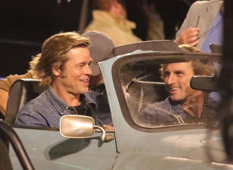 "Брэд Питт (Brad Pitt) ""Once Upon a Time in Hollywood"" кино"