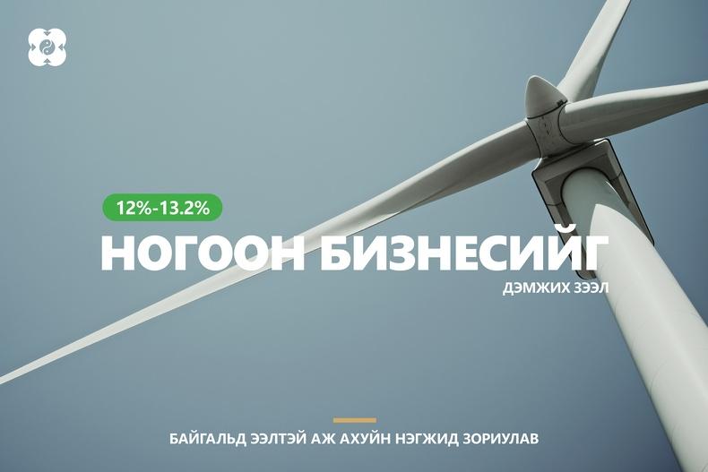 Эрчим хүчний үр ашгийг нэмэгдүүлэх ногоон бизнесийн зээлийг ХААН Банк олгож эхэллээ