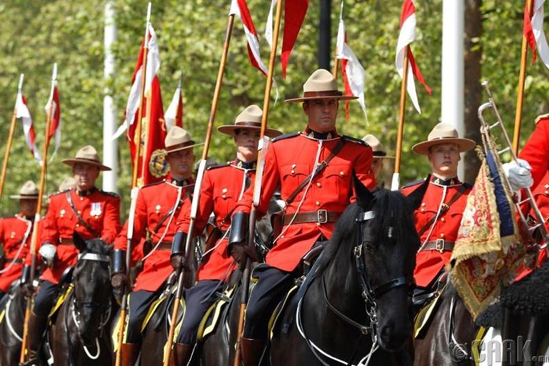 Канадын хааны морьт цагдаа нар