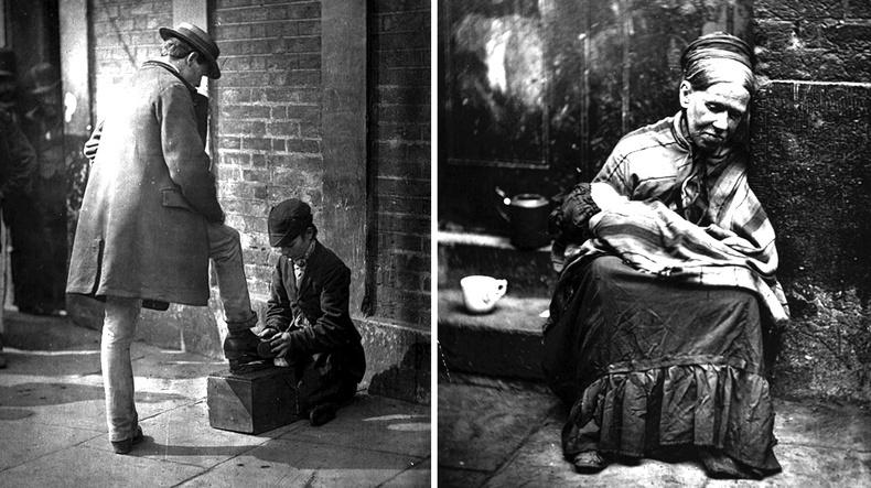 19-р зууны Лондон хотын ядуус дэлхийн анхны баримтат гэрэл зурагчны дуранд...