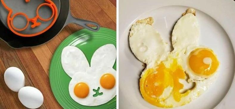 """""""Туулайн хэв ашиглаж хүүхдэдээ хөөрхөн өндөг шарж өгөх шахсан нь."""""""