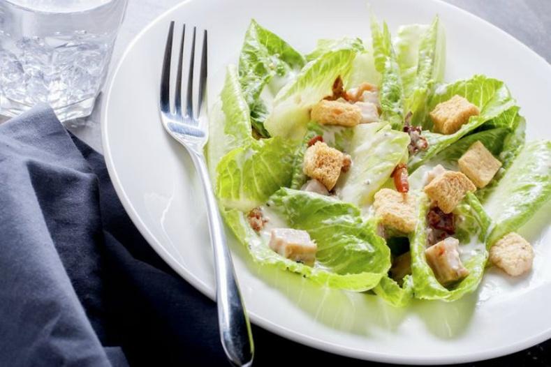 «Цезарь» салат