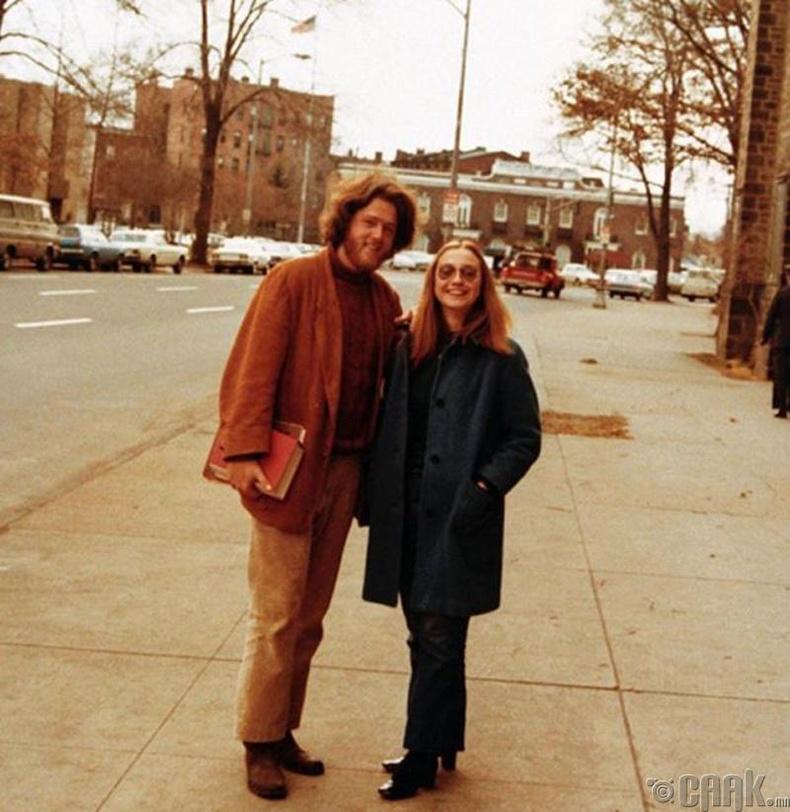 Билл Клинтон болон Хилари Клинтон