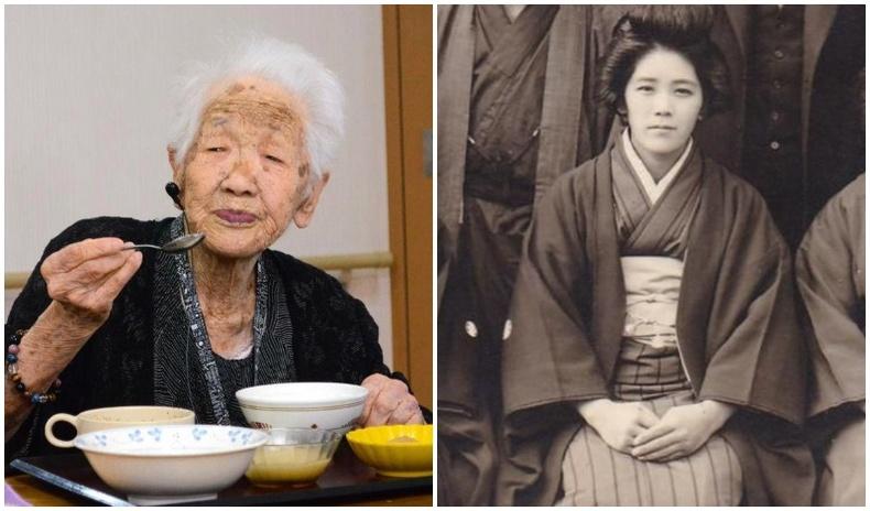 Хоёр цар тахал, хоёр дайныг үзэж, хоёр удаа хорт хавдрыг ялсан 118 настай Канэ Танакагийн амьдрал