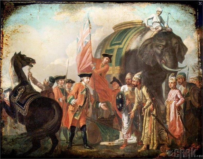 Мир Жафар - Энэтхэгийг сүйрүүлсэн нь