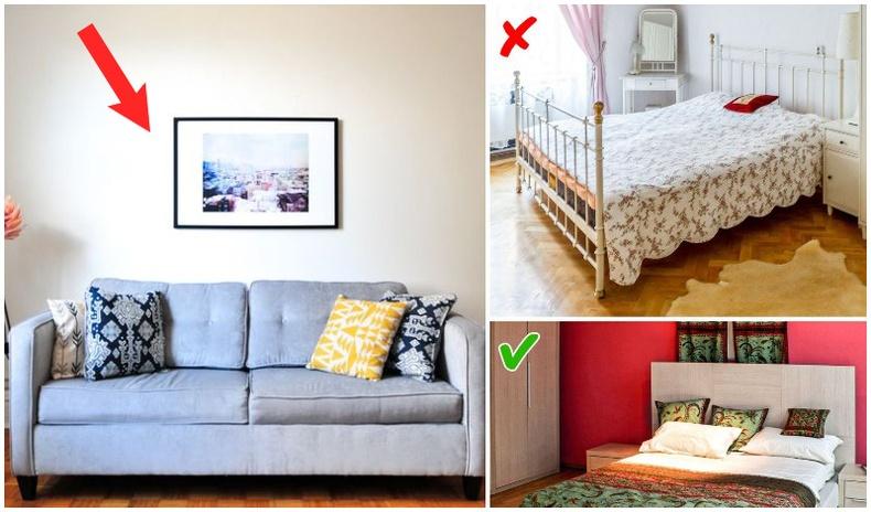 Ямар ч өрөөг жижигхэн, давчуу харагдуулдаг энгийн зүйлс