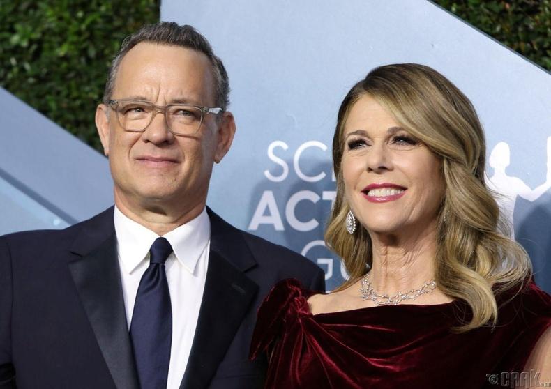 Том Хэнкс болон эхнэр Рита Уилсон