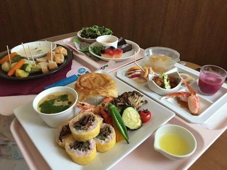 Япон эмнэлгийн өдрийн хоол