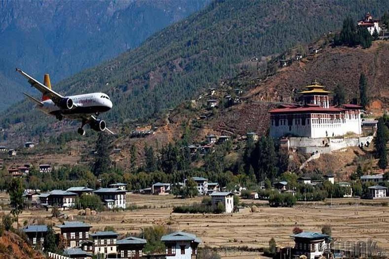 """""""Паро"""" нисэх буудал, Бутан"""