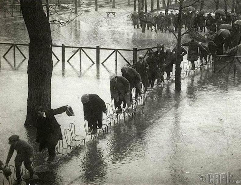 Парис хотод үер буусан нь - 1924 он
