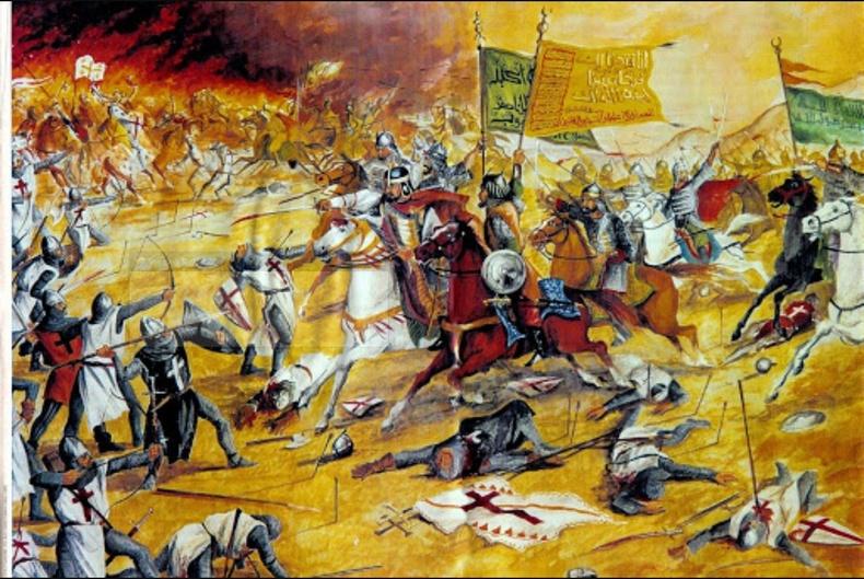 Хаттины тулаан - 1187 он