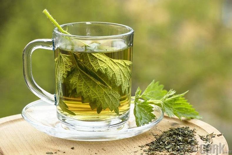 Цоохор майлзтай цай