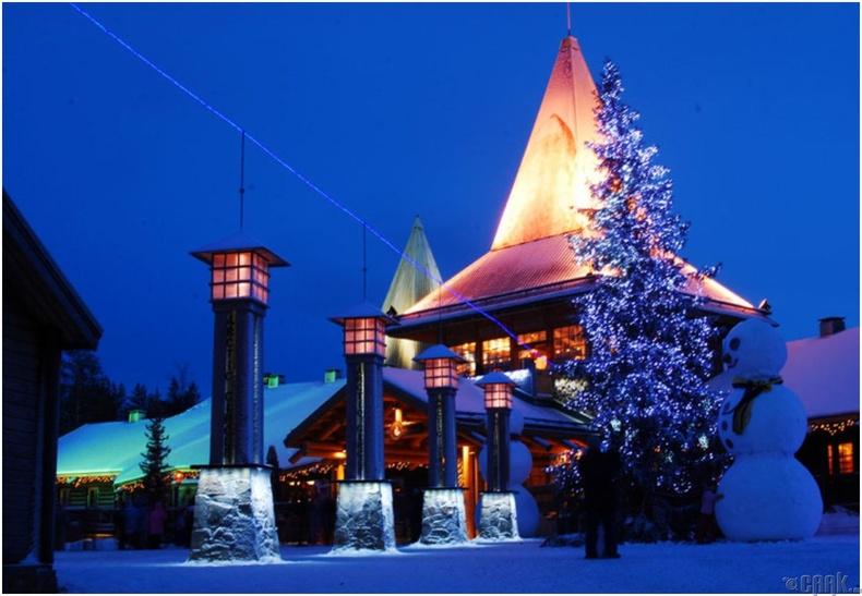 Санта Клаусын тосгон