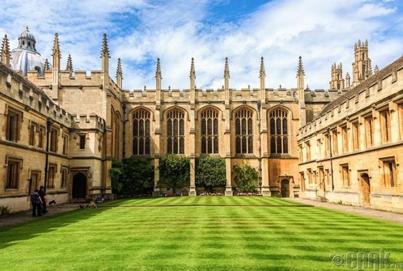 """""""Oxford""""-ийн их сургууль, Их Британи - 27,753 доллар"""