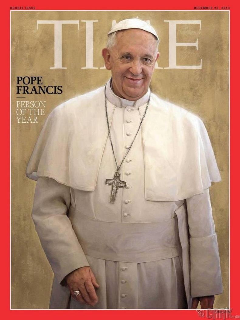 2013: Пап лам Францис