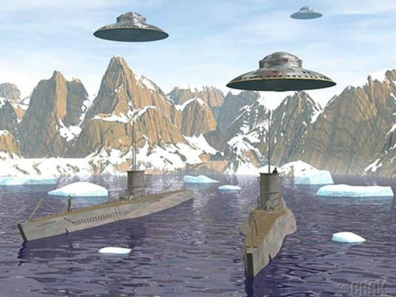 Антарктидын нууц байгууламжийг харийнхан барьж өгсөн