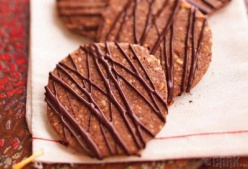 Шоколадтай жигнэмэг
