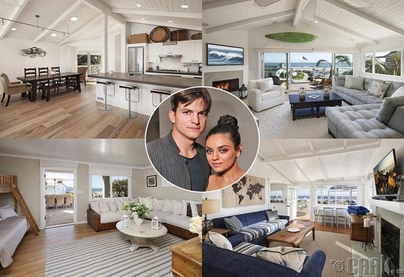 Аштон Катчер болон Мила Кунис (Ashton Kutcher, Mila Kunis) - Беверли Хиллс, 10 сая ам.доллар