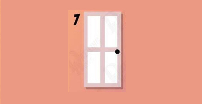 Долоодугаар хаалга