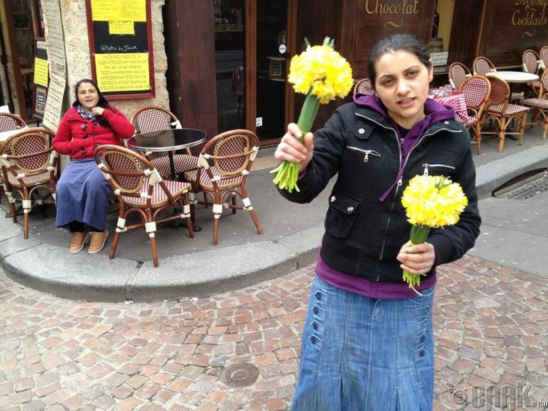 Цэцэг ашиглах