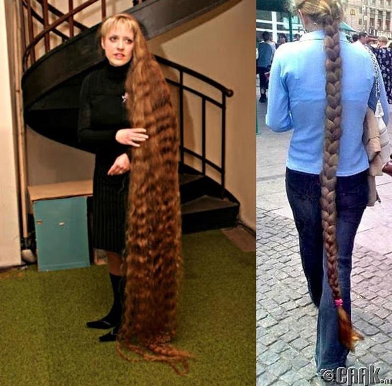 Литва улсын хамгийн урт гэзэгтэй бүсгүй