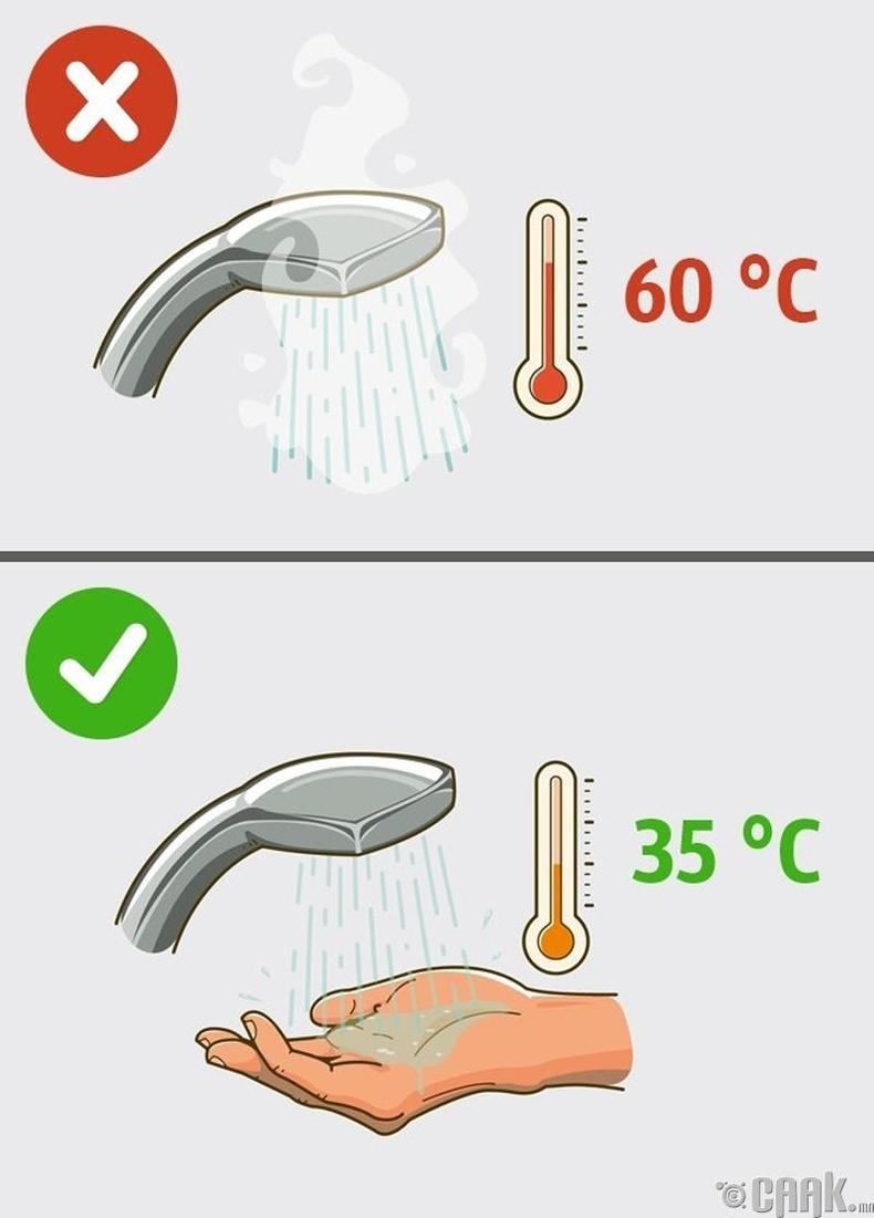 Хэтэрхий халуун усанд орох