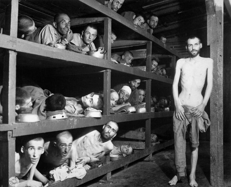 Бухенвальдын лагераас суллагдсан хоригдлууд, 1945