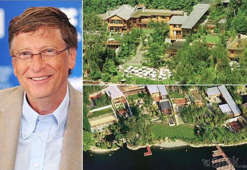 Билл Гейтс - 147.5 сая ам.долларын үнэтэй эдлэн