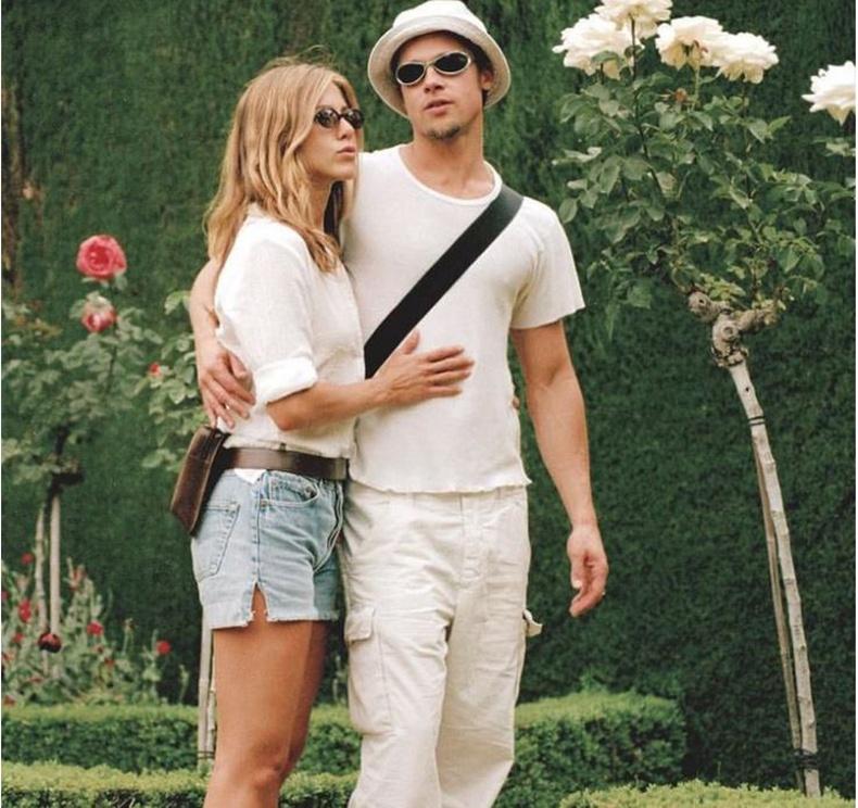 Брэд Питт болон Женнифер Энистон (Jennifer Aniston, Brad Pitt) - 1999 он