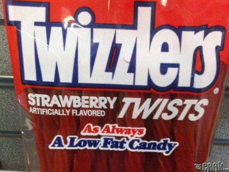 """""""Twizzlers""""-ийг идээд харамссан"""