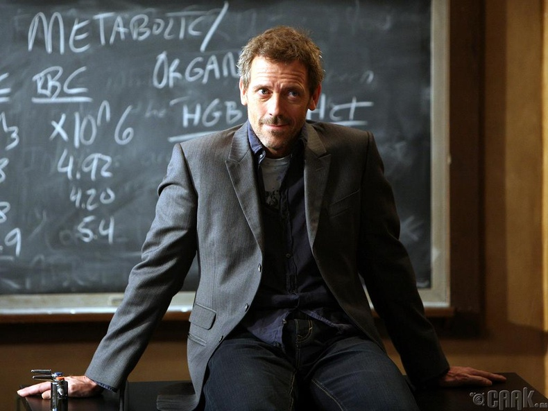 "Доктор Грегори Хаус (Dr. Gregory House), ""House"""