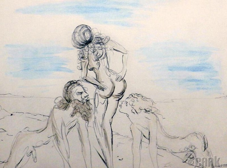 1916 оноос Дали зурж эхэлжээ
