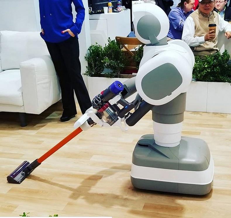 Цэвэрлэгч робот