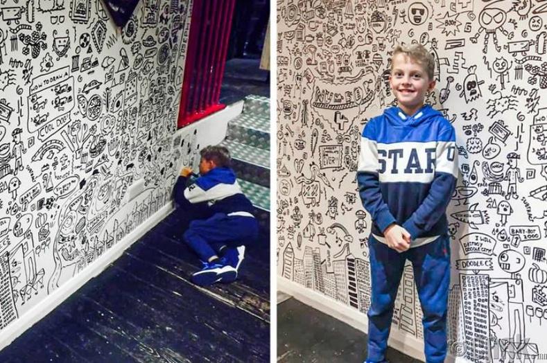 Жо Уйэл - 10 настайдаа рестораны интерьер хийсэн