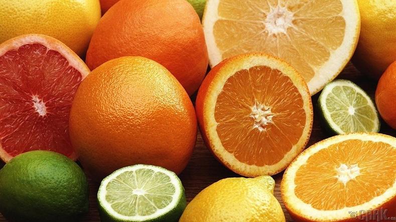 Цитрусын төрлийн жимс