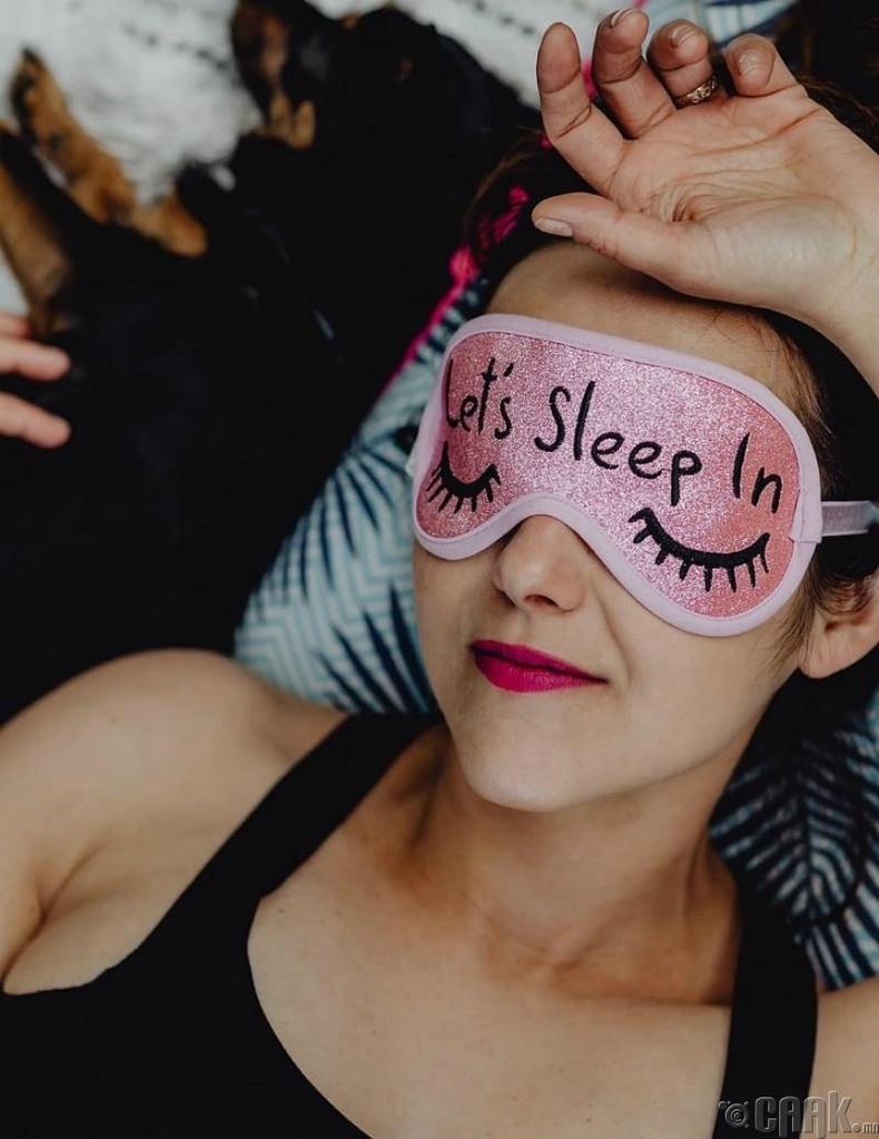 Чөлөөт цагаараа унтах дуртай