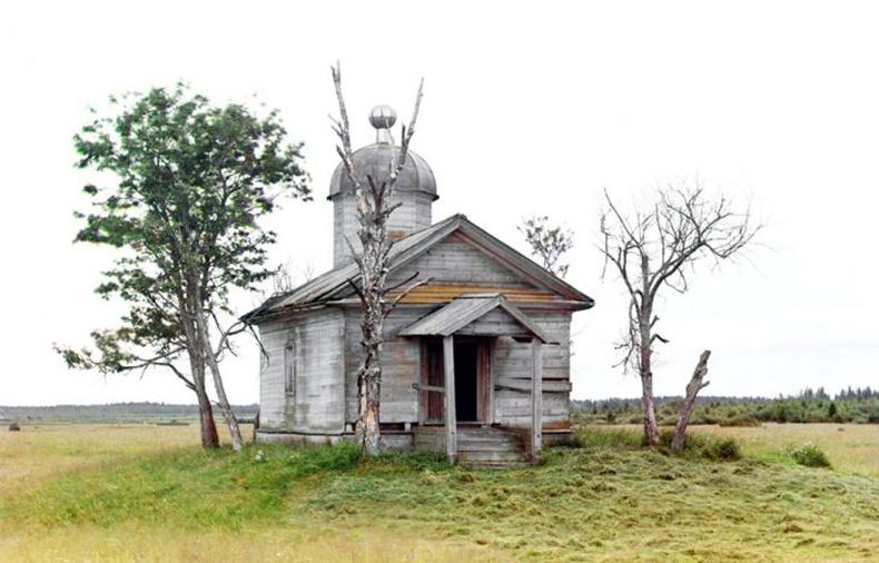 Одоогийн Белозерск хотын суурин дээрх сүм - 1909 он