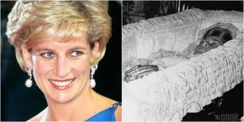 Диана гүнж (Princess Diana), 1997 оны 8-р сарын 31