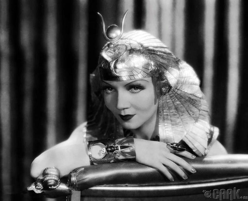 Клодетте Колберт (Claudette Colbert) - Cleopatra (1934)