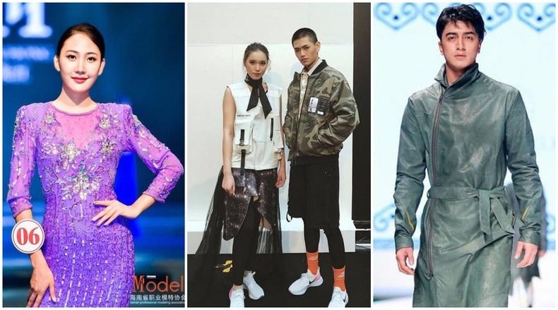"""""""Торгоны замын олон улсын загварын 7 хоног"""" шоунд 2017, 2018 онд оролцсон Монгол моделиуд"""