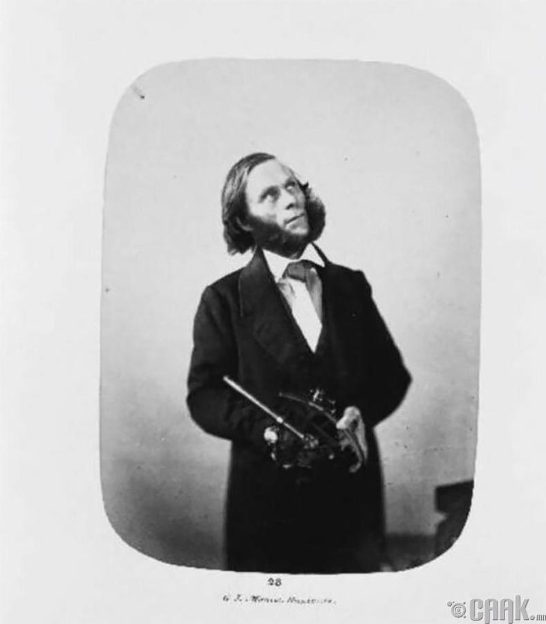 """Ахмад Жорж Жонстон - 1846 онд аллагын хэрэгт буруутгагдсан бөгөөд түүнийг """"архаг галзуу өвчтэй"""" гэж үзэж бүх насаар нь Бэдлам эмнэлэгт хорьжээ."""